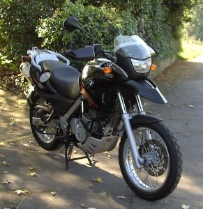 BMW GS 650 ccm